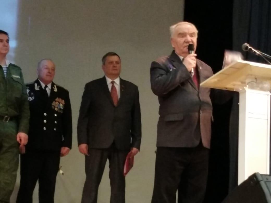 Ветераны педагогического труда приняли участие в торжественном мероприятии
