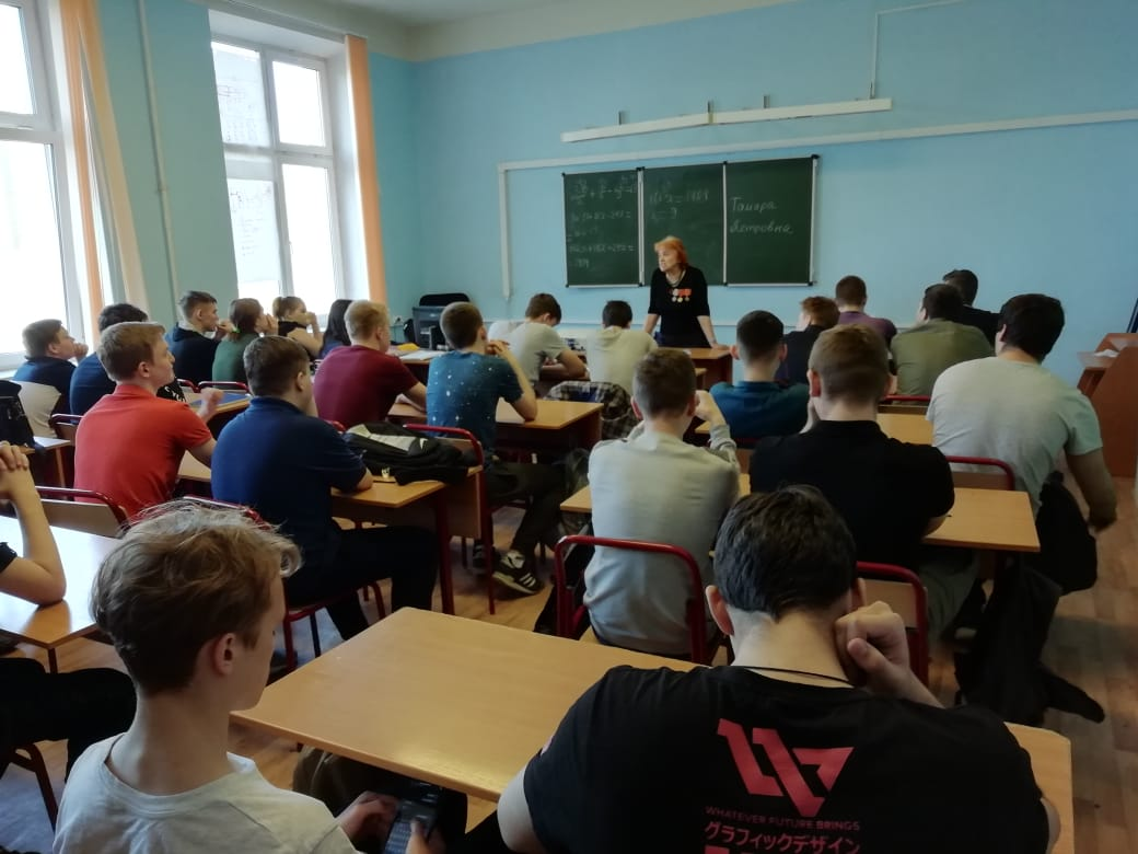 Встреча с ветераном труда Тамарой Петровной Темляковой