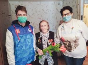 Сильванская Зоя Ивановна - председатель Совета блокадников Ленинграда по СВАО